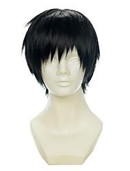 durarara Orihara izaya noir tout usage renversé Perruques  synthétiques perruques de costume