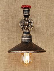 ac 220-240 40 e27 bg147 rustikal / Lodge Malerei Feature für Glühbirne includedambient Licht Wandleuchten Wandleuchte