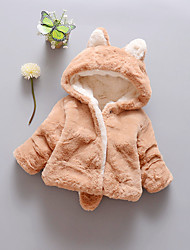 Girl's Casual/Daily Solid Sweater & CardiganCotton Winter Brown / Pink