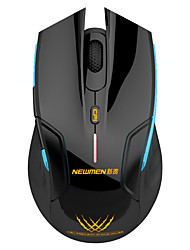 Wireless Gaming mouse luminous  1600DPI Plug and Play newmen E500