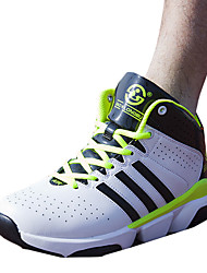 Men's Athletic Shoes Spring / Fall Comfort PU Athletic Flat Heel Others / Lace-up Blue / Green / Red Basketball