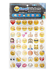 Emoji Stickers Novelty Toy Paper 10 bags