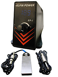 Solong Tattoo ELFIN POWER EP-1 Digital Tattoo Power Supply LCD P132