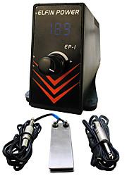 ЖК-дисплей 0.5 разъем питания профессиональная власть Ножной переключатель цифровой татуировки