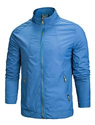 Trilha Blusas Homens Impermeável / Respirável Primavera / Outono Elastano Cáqui / Preto / Azul L / XL / XXL Downhill / Corrida-Esportivo