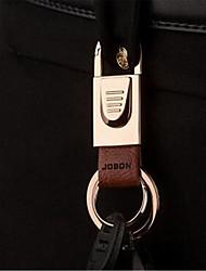 Zhongbang Simple Fine Metal Keychain Male Waist Hanging Car Pendant Key Chain Creative