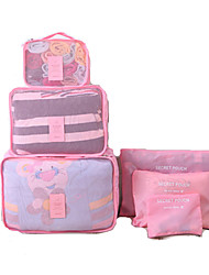Travel Toiletry Bag Dust Proof Travel Storage Fabric / Polyester