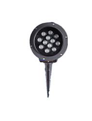 Напольный водонепроницаемый штекер фонари (обратите внимание положительный / теплый белый 3w)