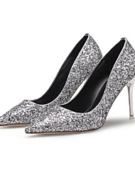 Women's Shoes Glitter Stiletto Heel Heels Comfort Pointed Toe Heels Wedding Dress Casual More Colors Available