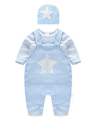 Baby Casual/Daily Print One-Pieces,Cotton Fall Long Sleeve