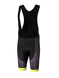 Sports QKI Cycling Bib Shorts Unisex Breathable /Lightweight Materials/ Anatomic Design /Polyester/ LYCRA / 5D Pad