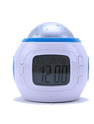 Chord Music Star Projection Alarm Clock