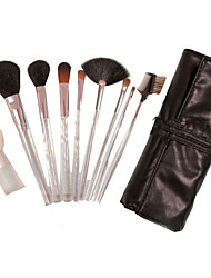 9 Makeup Brushes Set Others Portable Plastic Face NFSS