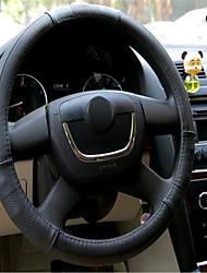 cuir de voiture pour régler le couvercle du volant