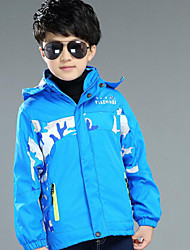 Boy Casual/Daily Print Suit & Blazer,Polyester Winter ¾ Sleeve