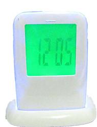 Counter Electronic Alarm Clock Display Temperature