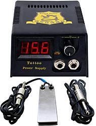 LCD 0.7 fiche d'alimentation pouvoir professionnel Interrupteur au pied Tatouage numérique