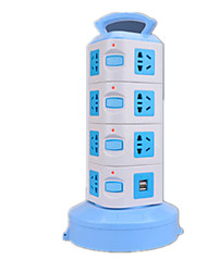 Vertical Socket With USB (Note Four 1.8 M With 2USB)