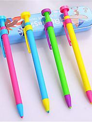 мода твердых цвета пера пресс типа механический карандаш (4шт)