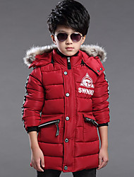 Boy's Casual/Daily Solid Suit & BlazerCotton / Polyester / Spandex Winter Black / Red / Gray