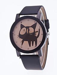 Mulheres Relógio Esportivo Relógio Elegante Relógio de Moda Relógio de Pulso Chinês Quartzo Couro Legitimo Banda Pendente Casual Criativo