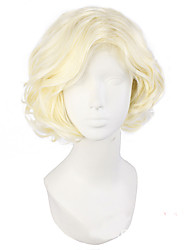 Rice White Wig Men The Sword Dance Series Anime COSPLAY Wig
