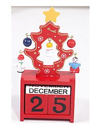 The Wooden Calendar DIY Christmas Tree Furnishing Articles