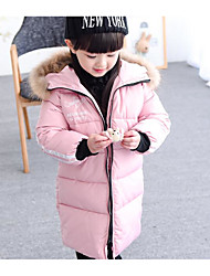 Girl's Casual/Daily Solid Suit & BlazerPolyester Winter Black / Pink