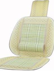 Car cushion summer bamboo silk car cushion Liangdian single leaf cushion