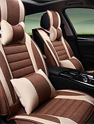 Car Cushion Linen Four Seasons Universal Cushion Full - Encased Car Cushion Cover