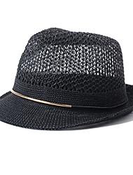 Bob / Chapeau de soleil Eté Décontracté Paillette Unisexe