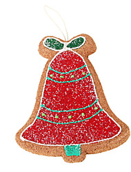 Bell Brown Foam Ornament