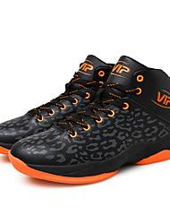 Men's Sneakers Comfort PU Athletic / Casual Flat Heel Lace-up Yellow / Green / White / OrangeTennis /