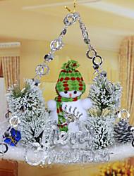 рождественские елочные украшения пластины скольжения кулон / случайный цвет