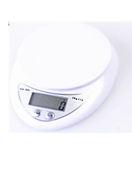 Mini Kitchen Electronic Scale Measurement Range 5KG/1G