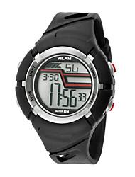 Vilam Enfant Montre de Sport Montre Bracelet Montre numérique Numérique LCD Calendrier Etanche Chronomètre Plastique BandeDessin-Animé