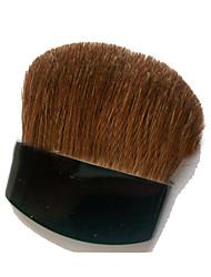 1 Blush Brush Horse Horse Hair Plastic Face