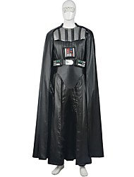 Men's Wars  Star Darth Vader Costume Deluxe Dark Lord Cosplay Outfit Halloween