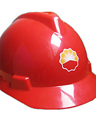 capacetes abs de alta resistência (vermelho)