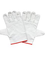 24 líneas de lona gruesa doble guantes protectores 10 pares presente para la venta