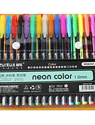 Fluorescent Pen  Flash Pen  Pastels Combination Suit