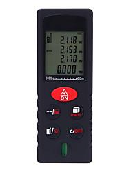 KXL-D60 60m Handheld Range Finder Laser Meter Measuring Devices Tool - 60M  BLACK