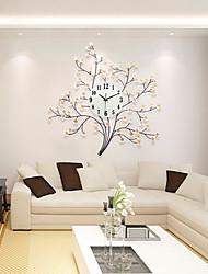 Moderne/Contemporain Niches Horloge murale,Autres Acrylique / Verre / Métal 71*72cm Intérieur Horloge
