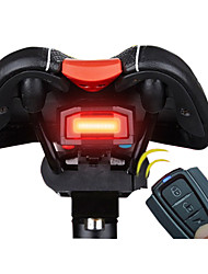 Rear Bike Light LED Cycling Remote Control / Super Light / Alarm Lumens Battery Cycling/Bike
