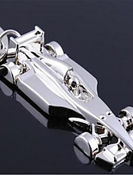 F1 Flat Car Pendant Key Ring