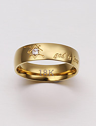 Jewelry Women Alloy  Gold Ring