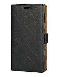Para huawei p10 y5 ii caso de la cubierta de cuero estilo PU caja de cuero con tirón magnético y ranura para tarjetas p9 p8 lite (2017) p9