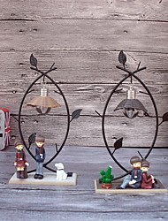 Valentine's Day Party Favors & Gifts-1Piece/Set Ornaments Metal Garden Theme