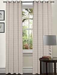 One Panel Curtain Designer , Stars Living Room Polyester Material Curtains Drapes Home Decoration For Window