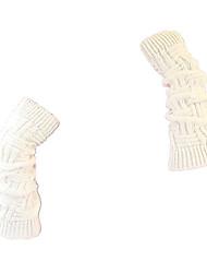 Women'S Knitted Wool Gloves (White Longchuan Gloves)